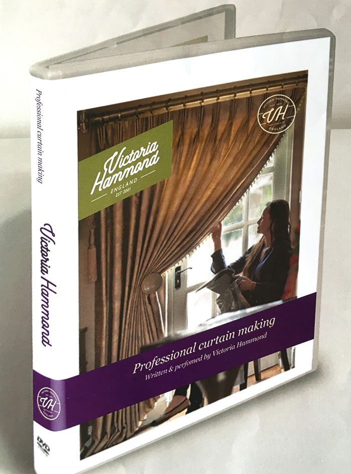 DVD - Curtain Making - Victoria Hammond Interiors