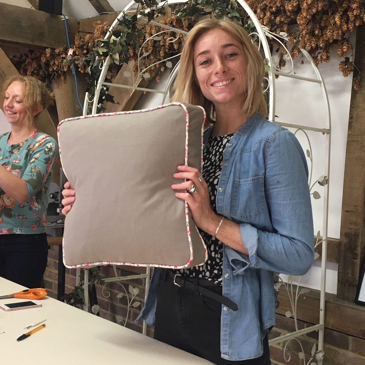 cushion making course